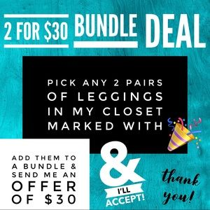 LuLaRoe Pants - 🎉 2 for $30 TC LuLaRoe Adult Leggings